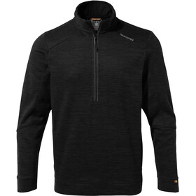 Craghoppers Strata Fleece Shirt Halve Rits Heren, black
